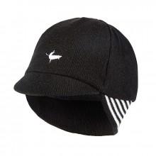 Belgian Style Cycling Cap - Black